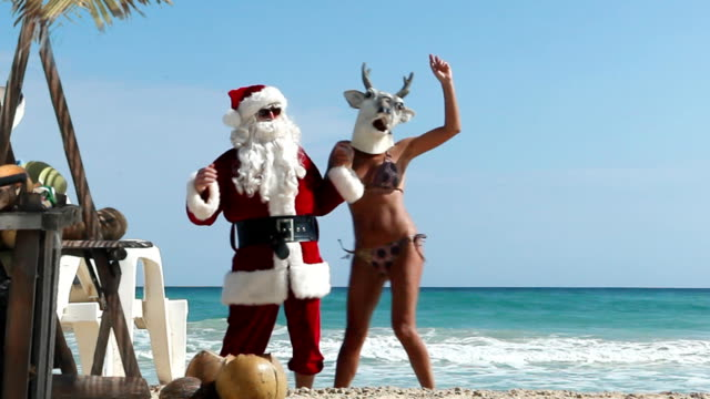 Christmas Beach Party video