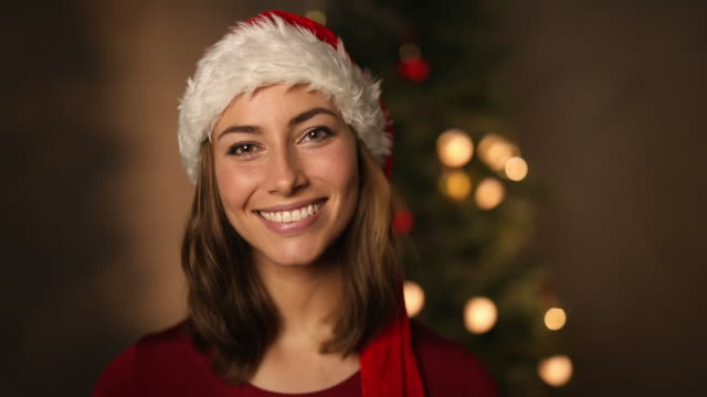 Christmas beauty video