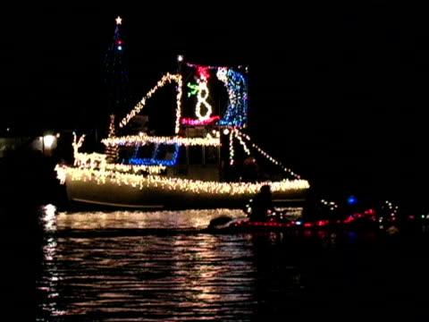 Christmas Boat video