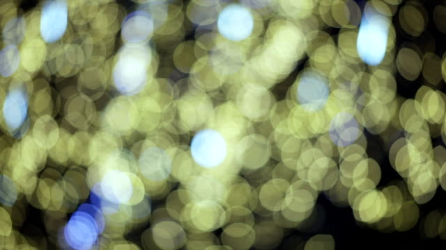 Christmas bokeh video