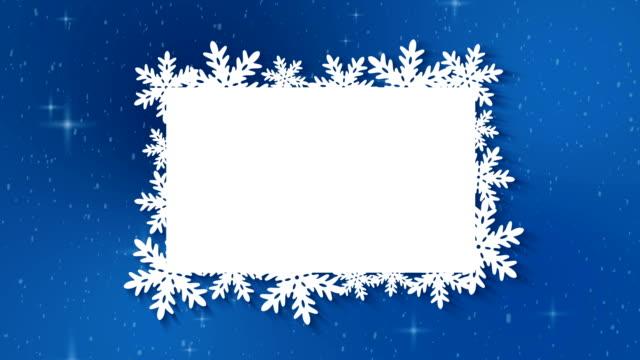 christmas gränsen bakgrunden - christmas frame bildbanksvideor och videomaterial från bakom kulisserna