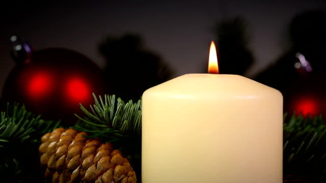 Weihnachten Kerze – Video
