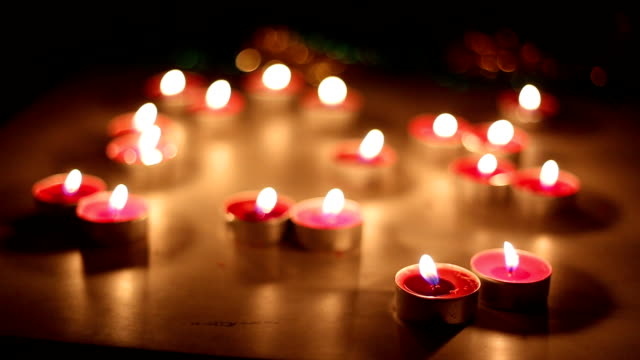 christmas candles video