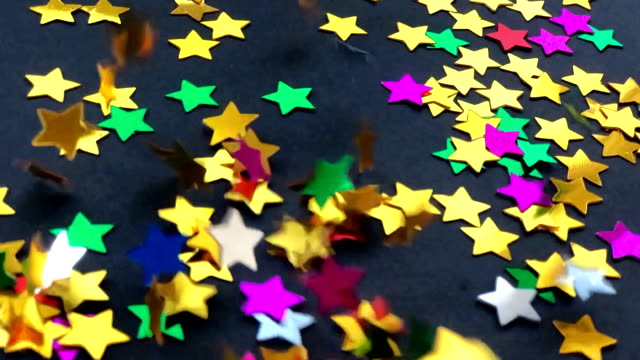 Christmas Colorful bright star video