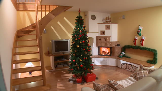 HD: Christmas decoration video