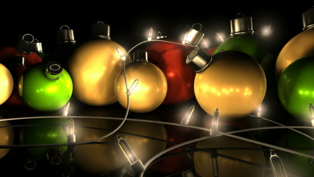 Christmas Decorations And Lights video