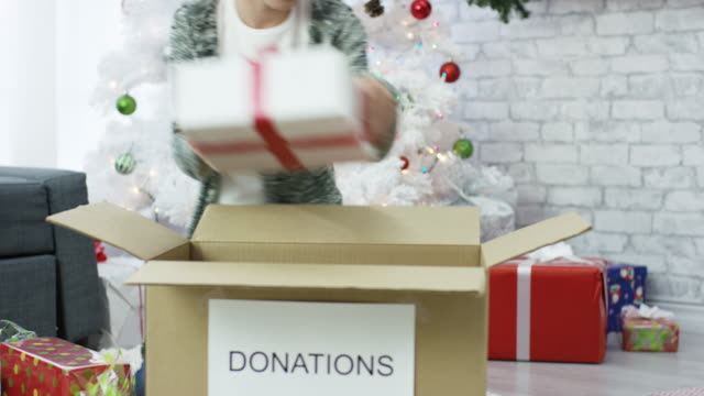 Christmas Donations video