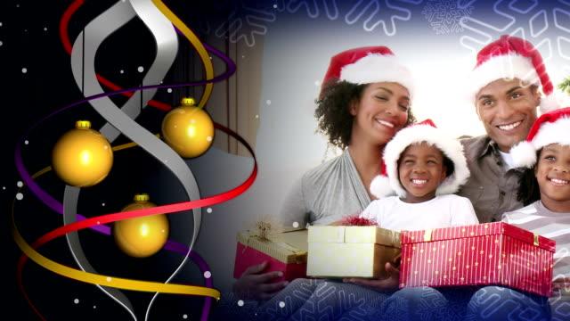크리스마스 부품군 합성사진 - 20 29세 스톡 비디오 및 b-롤 화면