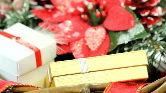 Christmas gift basket video