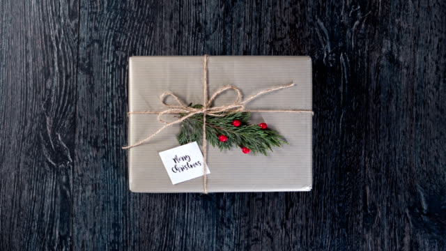 Christmas Gift Stop Motion Christmas Stop motion wrapped stock videos & royalty-free footage