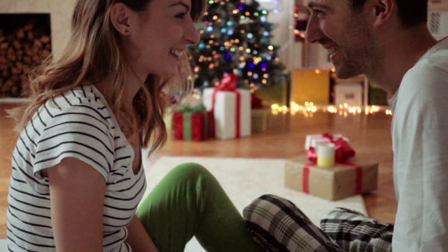 Christmas gifts exchange video