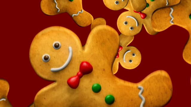 Christmas Gingerbread Man Festive Animation Christmas Gingerbread Man Cookies Background Animation. Festive Seamless Looping 4K Video. Discover Other Christmas Animated Characters in My Portfolio. gingerbread man stock videos & royalty-free footage