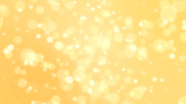 Christmas golden bokeh background video