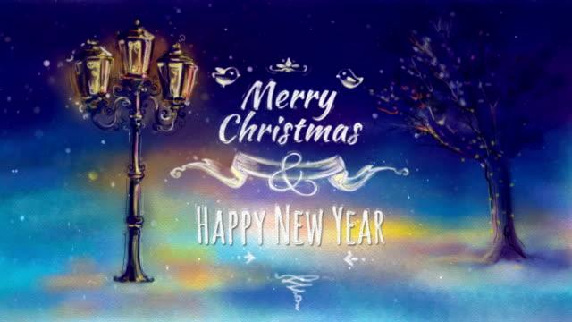 Christmas Greeting Card video