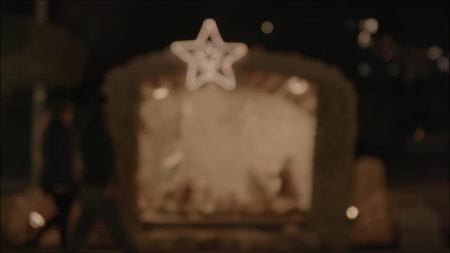 vídeos de stock e filmes b-roll de christmas in lebanon - reis magos