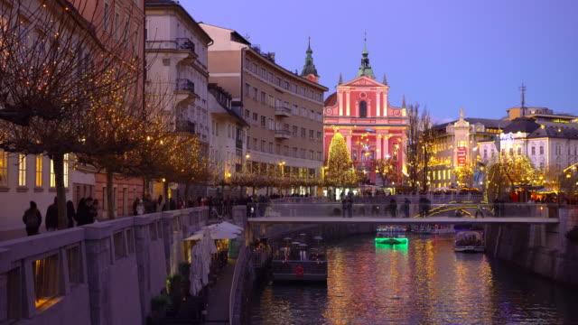 Christmas in Ljubljana video