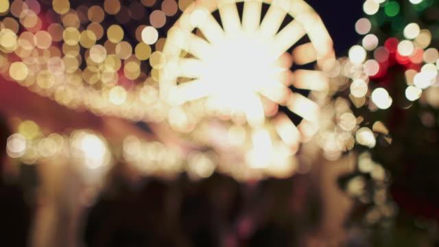 vídeos y material grabado en eventos de stock de navidad en noruega: luces de bergen - bergen