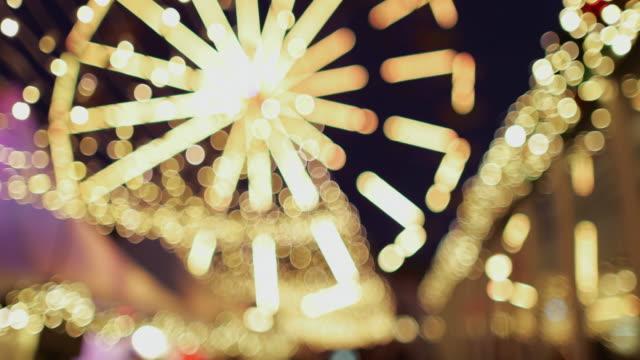 vídeos y material grabado en eventos de stock de navidad en noruega: luces de bergen - noria
