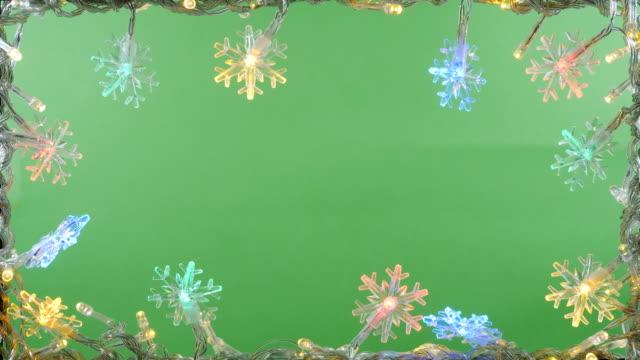 jul ljus ram bakgrunden - christmas frame bildbanksvideor och videomaterial från bakom kulisserna