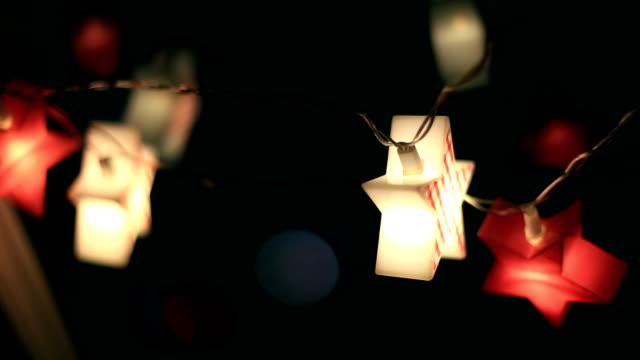 Christmas lights, Christmas star, police lights