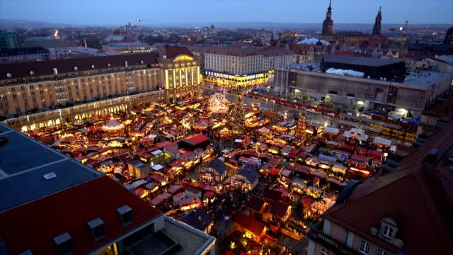 ドレスデンのクリスマスマーケット ビデオ