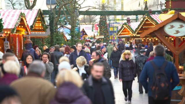 Christmas Market, Time Lapse video