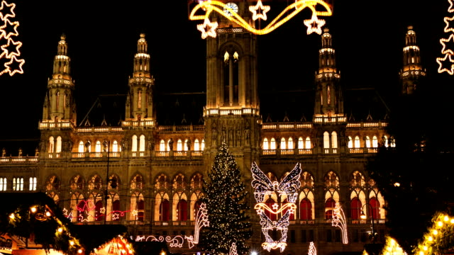 Christmas Market Vienna - Time Lapse video