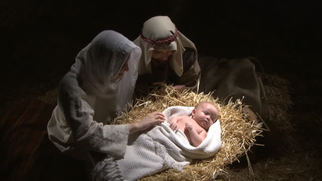 vídeos de stock e filmes b-roll de nativity de natal - cristo redentor
