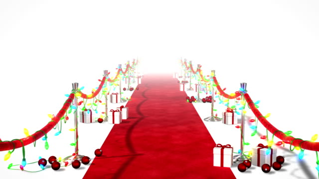 Christmas Red Carpet video