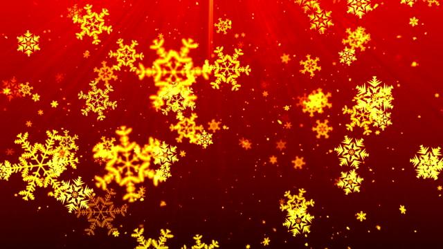 SnowFlakes Navidad rojo - vídeo