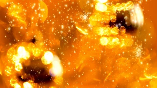 雪の結晶クリスマス シームレス ループ背景 - 十二月点の映像素材/bロール
