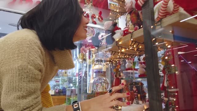 Christmas shopping in-store