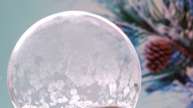 Christmas Snow Globe Snowflake video