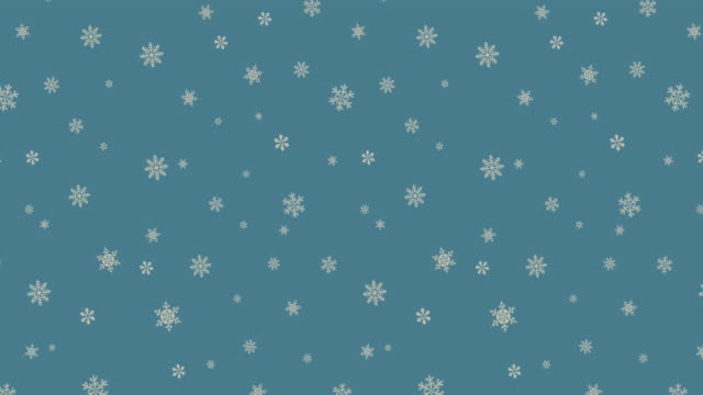 Christmas Snowflake blue Background
