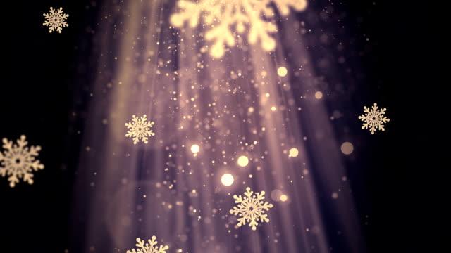 Navidad Snowflakes 1 - vídeo