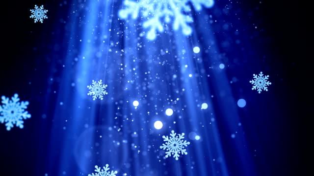 Navidad Snowflakes 2 - vídeo