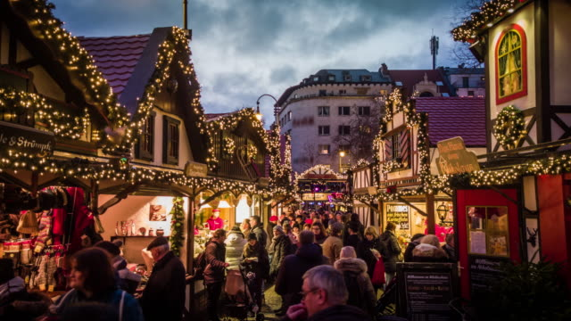 vídeos de stock e filmes b-roll de christmas time in europe - alemanha