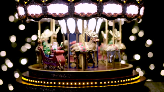 Christmas Toy Carousel