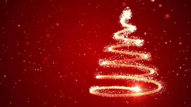 weihnachtsbaum-hintergrund - frohe weihnachten - weihnachtskarte stock-videos und b-roll-filmmaterial