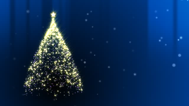 Christmas Tree Blue video