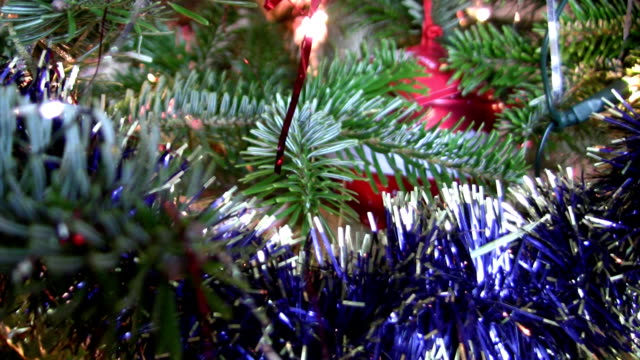Christmas Tree Close Up video