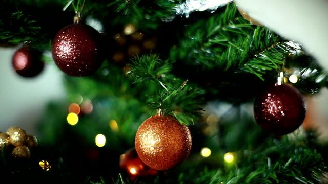 HD: Christmas Tree Ornaments video