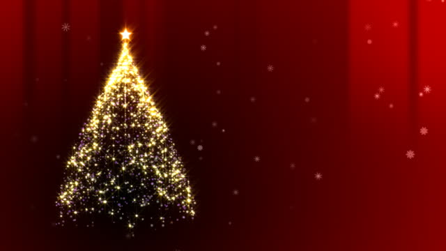 Christmas Tree Red video