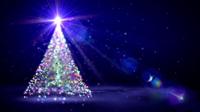 Christmas tree Seamless video