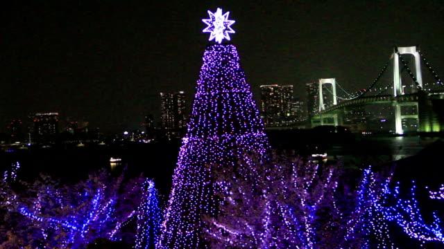 クリスマスクリスマスツリー - クリスマスツリー点の映像素材/bロール