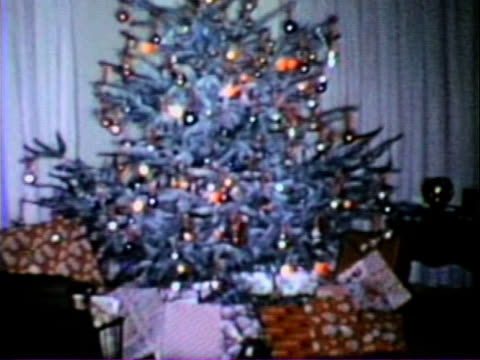 Christmas Tree - Vintage Super 8 Film video