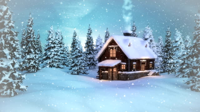 Christmas - Winter Landscape | Loopable video