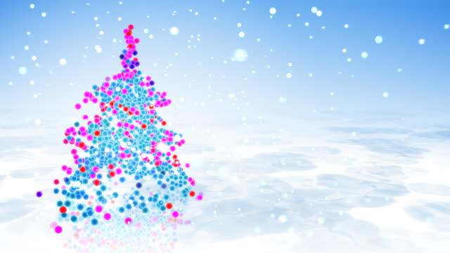 Christmass fir tree - HD video