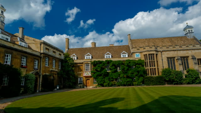 Christs College and University in Cambridge, England, UK video
