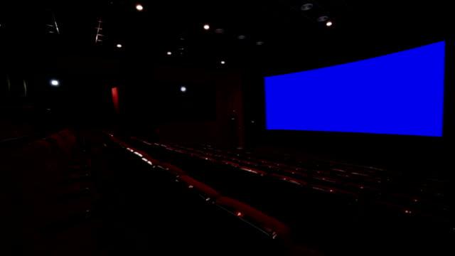 Chroma key cinema screen video